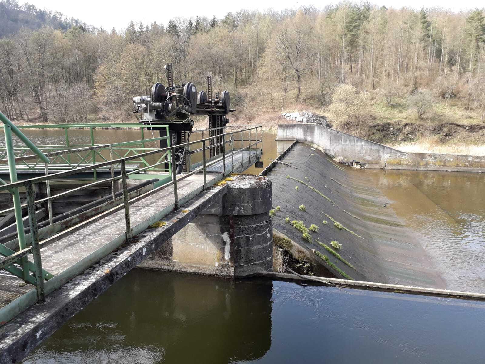 Wasserkraftwerk Wald Staustufe