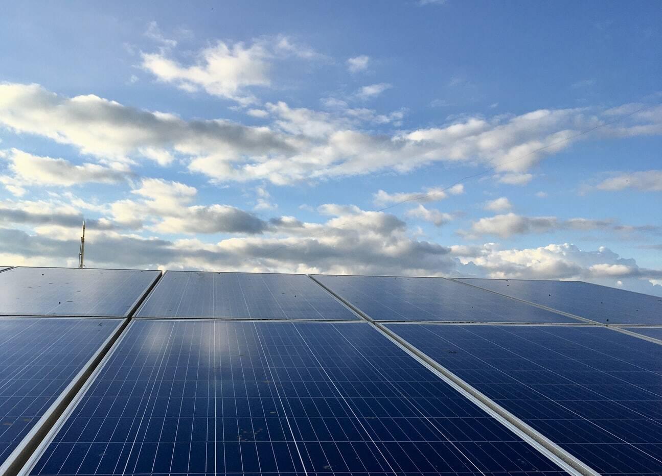 Photovoltaik Wolken